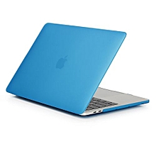 """15"""" Pro (USB-C Port) Case, Matt Hard Rubberized Cover For 2016-2018 Macbook 15.4 Pro With Touch Bar, Light Blue"""