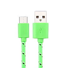 1M USB-C USB 3.1 Type C Data Charge Charging Cable For HTC Bolt GN