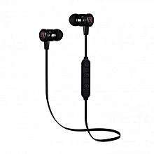 Chat Series Bluetooth Earphones - Black and Red