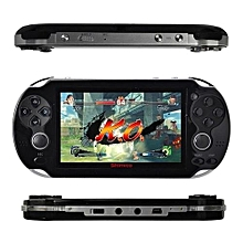Video Game Console 8GB Free 2000 Games 4.3 Inch MP5 Players - Black