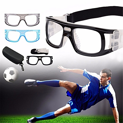 3a572129939 Basketball Soccer Sports Protective Eyewear Goggles Eye Safety Glasses with  Case Blue