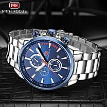 Fashion Steel Men Sport Watch 3ATM Water-resistant Quartz Luminous Wristwatch Man Relogio Musculino Chronograph