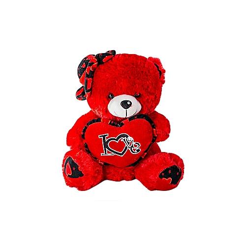 Buy Generic Teddy Happy Birthday Or Girlfriend Gift Plush Bear Toy Red Best Price