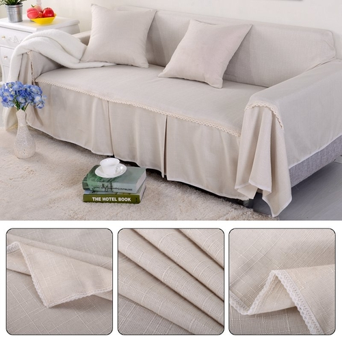generic 2 seat 215 260cm couch slipcover linen fabric sofa cover rh jumia co ke fabric sofa covers india fabric sofa covers for storage