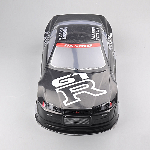 020GR 190MM Painted PVC Body Shell +Rear Wing For 1:10 RC Drift Model  Racing Car