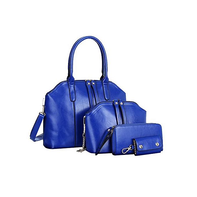 Zetenis Fashion Women Handbag Shoulder Bag Leather Messenger Bag Satchel  Tote Purse -Blue beaa881eab