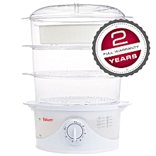 ST-EC7178 - Rice and Egg Steamer - Mechanical - Clear..