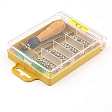 31 in 1 32 PCS Electronic Magnetic Screwdriver Set Tool T4 T5 T6 T7 PH1