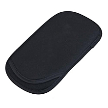 Black Soft Bag Cover Pouch Case + Wrist Strap For Sony Playstation PS Vita PSV