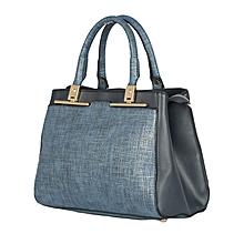 Dark Blue CMR CEMRE Shoulder/Hand Bag