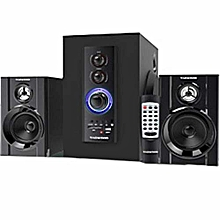 MP-805 Multimedia 2.1 Subwoofer with Bluetooth Black.