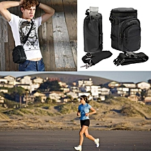 Fanny Pack Waist Pack Water Bottle Holder Pockets Climbing Travel Hiking Bag New