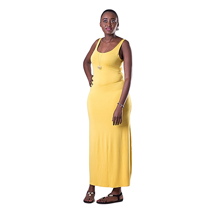 ada140467dd764 KOTON Yellow Maxi Dress @ Best Price Online | Jumia Kenya