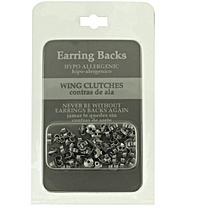 Earring Stoppers- Silver