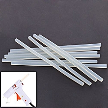10pcs Translucence Hot Melt Glue Sticks Size 260mm x 11mm