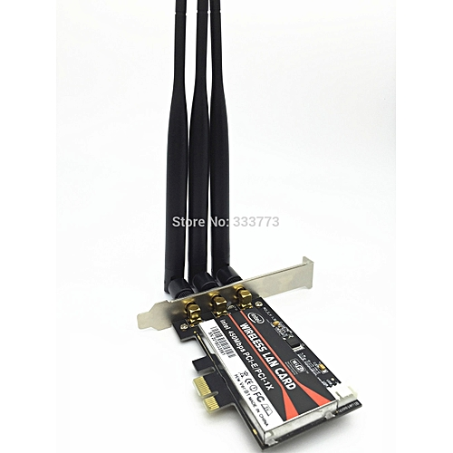 Wondrous Desktop 450Mbps Pci E 1X 16X Express 2 4 5G Dual Band Card Adapter For Desktop Pc Computer Win 7 8 Interior Design Ideas Oteneahmetsinanyavuzinfo