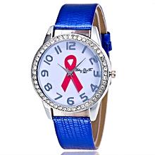 Luxury Women Quartz Wrist Watch Leather Band Casual Dress Watch BU