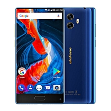"MIX(Tri-bezel-less Screen) 4GB RAM 64GB ROM, 5.5""Corning Gorilla Glass HD Dual Camera Android 7.0 4G LTE Smartphone Blue"