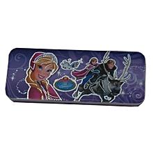 Frozen Hard Plastic Pencil Case  - Purple