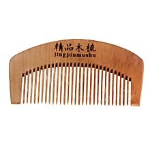 Natural Health Peach Wooden Mahogany Comb Present Comb-AS Shown
