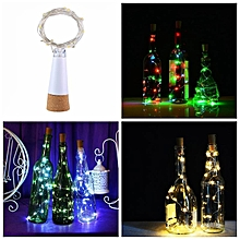 Bottle Starry Lights,1.5Meters Rechargeable USB Bottle Cork Wire Fairy String Party Light With 15 Waterproof LED Lights,Warm White