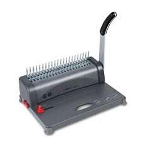 A4 Comb Binder Binding Machine-Grey-Black-Multicolor