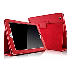 1 Pc/lot Folio PU Leather Protective Stand Smart Case Cover Shell With Sleep-Wake For Apple iPad 2 3 4 Multi-Color CHD-Z