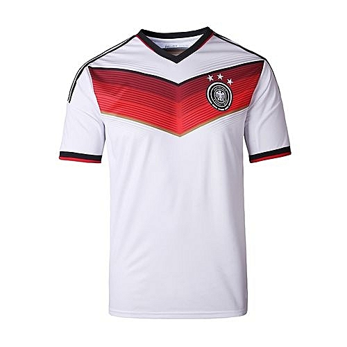 BestieLady Germany National Team Jersey T-shirt For Women (White ... 6fa1ee533