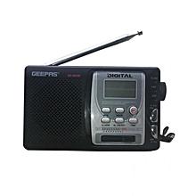 GR6825 - Luxuirous10-Band Digital Radio - Black