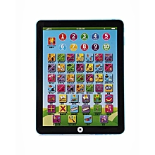 Children's Educational English Learning Pad - Blue