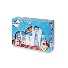 Soft & Smooth 7 Pc Baby Gift Box-blue