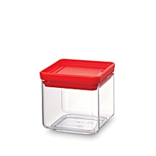 290008 - Square Canister 0.7L - Red