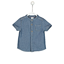 Blue Fashionable Standard Shirt