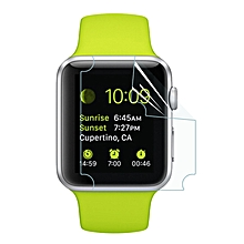 For Apple Watch 38mm 0.1mm TPU Material Screen Film