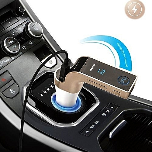 Multifunctional Bluetooth Car Charger With Car Full Frequency Fm  Transmitter / Stereo Mp3 Player For Iphone 6s & 6s Plus, Samsung Galaxy  Note 5 & S6