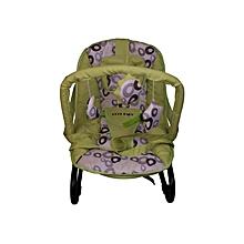 Infant bouncer/rocker- Lime green