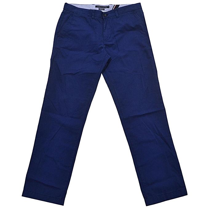 Generic Mens Khaki Chinos Dress Pants Casual Work Trouser Slim Fit