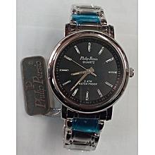 Phillip Persio Silver Steel Men's Watch