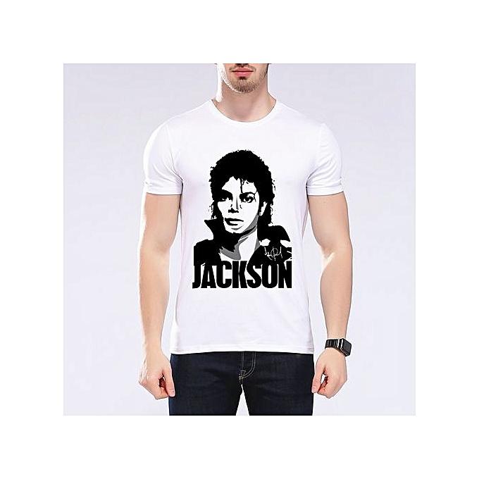 9909d2296 New Funny 3D T Shirt Michael Jackson Men's T-Shirts Fashion King Of Pop  Design
