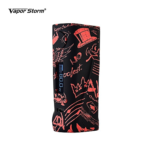 Vapor Storm Electronic Cigarette ECO Pro Box Mod ABS 5-80W Variable Power  TC 510 Thread Lion RDA DIY Coil Vape Starter Kit