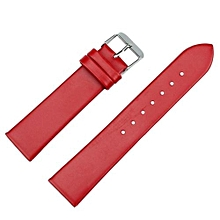 20mm Women Fashion Leather Watch Strap Watch Band Red
