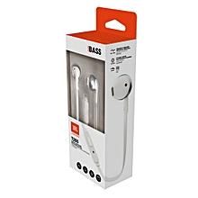 T205BT In Ear Earphones Silver