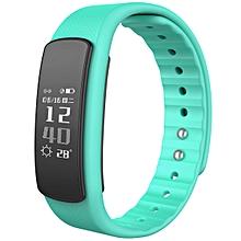 I6HR TPU + TPE Bluetooth v4.0 IP67 Smart Wristband - Green