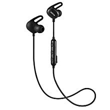 QCY E2 V4.2 Bluetooth Earphone - BLACK