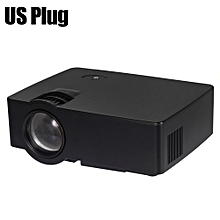 E08 LCD Projector 1500 Lumens 800 x 480 Pixels 1080P HD Media Player with Airplay Miracast