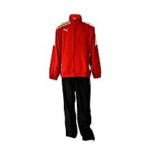 Tracksuit Esito Woven Suit- 652594-01red/White- L