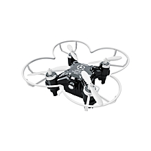 FQ777 124+ 4CH 6-Axis Gyro RTF 3D Eversion RC Pocket Quadcopter Drone Toy - Black