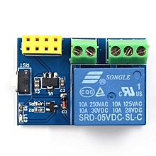 ESP8266 ESP-01S 5V WIFI Relay Module Remote Switch Phone Project Design Kit Blue