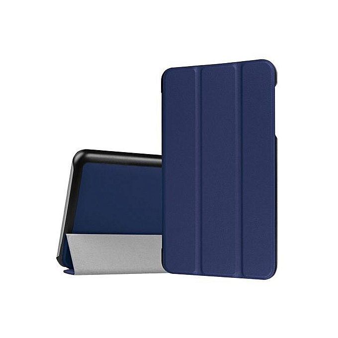 Pleasing Ipad Tablet Case Folding Stand Leather Case Cover Holder For Dragon Touch S7 7 Inch Db Dark Blue Home Interior And Landscaping Staixmapetitesourisinfo