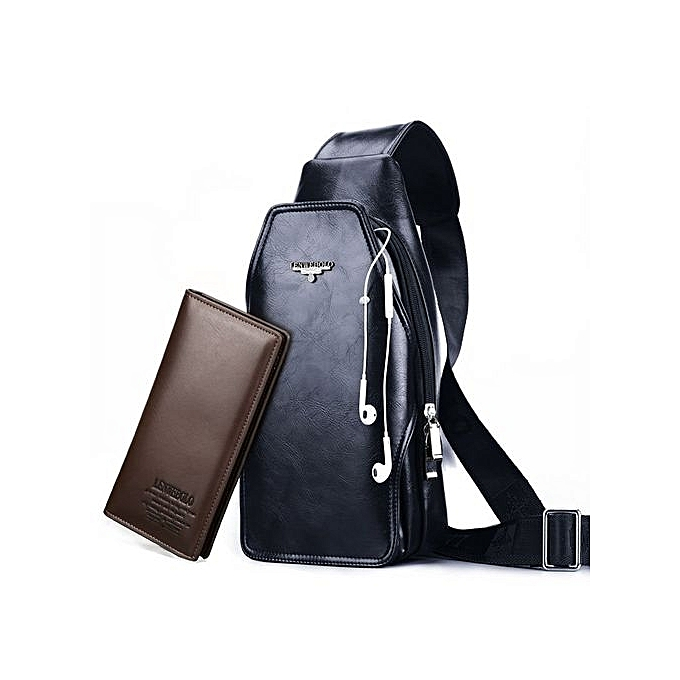 39cf07a0443 Fashion Leather Men Bag Leather Crossbody Bags Famous Brand Small Men s  Messenger ...